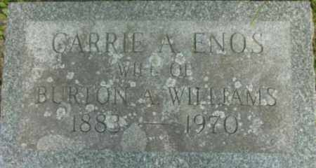 WILLIAMS, CARRIE A - Berkshire County, Massachusetts   CARRIE A WILLIAMS - Massachusetts Gravestone Photos