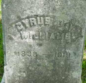 WILLIAMS, CYRUS JAY - Berkshire County, Massachusetts   CYRUS JAY WILLIAMS - Massachusetts Gravestone Photos