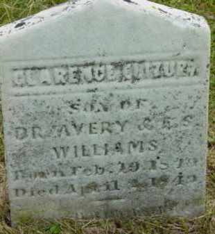 WILLIAMS, CLARENCE ELIZUR - Berkshire County, Massachusetts   CLARENCE ELIZUR WILLIAMS - Massachusetts Gravestone Photos