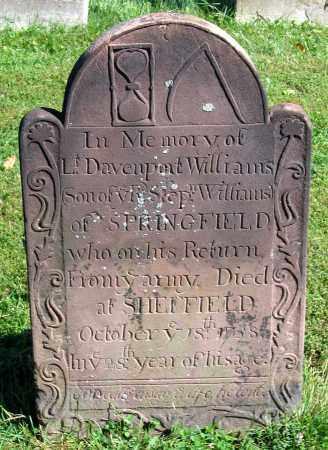 WILLIAMS, DAVENPORT - Berkshire County, Massachusetts | DAVENPORT WILLIAMS - Massachusetts Gravestone Photos