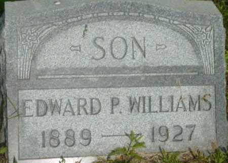 WILLIAMS, EDWARD P - Berkshire County, Massachusetts   EDWARD P WILLIAMS - Massachusetts Gravestone Photos
