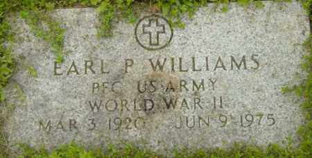 WILLIAMS, EARL P - Berkshire County, Massachusetts   EARL P WILLIAMS - Massachusetts Gravestone Photos