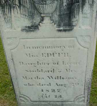 WILLIAMS, EDITH - Berkshire County, Massachusetts | EDITH WILLIAMS - Massachusetts Gravestone Photos