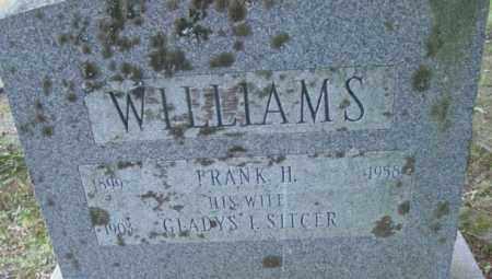 WILLIAMS, FRANK H - Berkshire County, Massachusetts | FRANK H WILLIAMS - Massachusetts Gravestone Photos