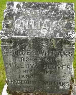 GLOVER WILLIAMS, MINERVA - Berkshire County, Massachusetts | MINERVA GLOVER WILLIAMS - Massachusetts Gravestone Photos
