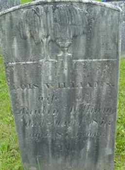 WILLIAMS, LOIS - Berkshire County, Massachusetts   LOIS WILLIAMS - Massachusetts Gravestone Photos