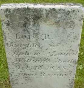 WILLIAMS, LOIS R - Berkshire County, Massachusetts   LOIS R WILLIAMS - Massachusetts Gravestone Photos