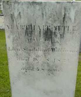 WILLIAMS, MARTHA - Berkshire County, Massachusetts   MARTHA WILLIAMS - Massachusetts Gravestone Photos