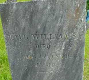WILLIAMS, PAUL - Berkshire County, Massachusetts   PAUL WILLIAMS - Massachusetts Gravestone Photos