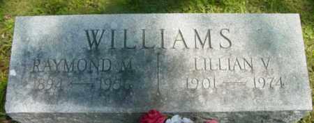 WILLIAMS, RAYMOND M - Berkshire County, Massachusetts | RAYMOND M WILLIAMS - Massachusetts Gravestone Photos