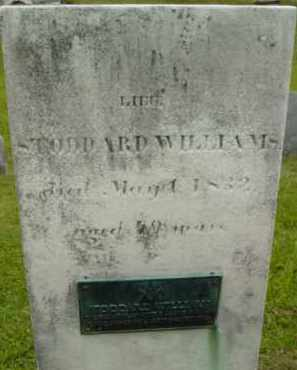 WILLIAMS, STODDARD - Berkshire County, Massachusetts   STODDARD WILLIAMS - Massachusetts Gravestone Photos