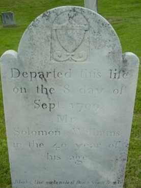 WILLIAMS, SOLOMON - Berkshire County, Massachusetts | SOLOMON WILLIAMS - Massachusetts Gravestone Photos