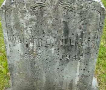 WILLIAMS, WALTER D - Berkshire County, Massachusetts | WALTER D WILLIAMS - Massachusetts Gravestone Photos