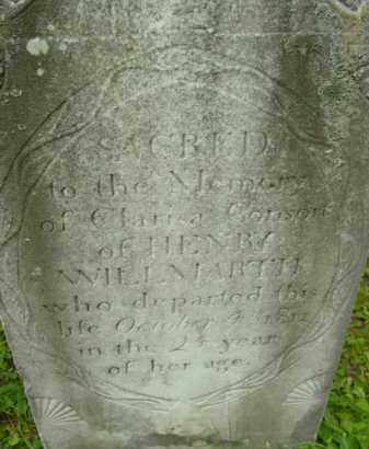 WILLMARTH, CLARISA - Berkshire County, Massachusetts | CLARISA WILLMARTH - Massachusetts Gravestone Photos