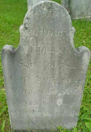 WILLMARTH, EPHRAIM - Berkshire County, Massachusetts   EPHRAIM WILLMARTH - Massachusetts Gravestone Photos