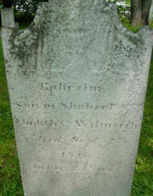 WILMARTH, EPHRAIM - Berkshire County, Massachusetts | EPHRAIM WILMARTH - Massachusetts Gravestone Photos