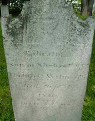 WILMARTH, EPHRAIM - Berkshire County, Massachusetts   EPHRAIM WILMARTH - Massachusetts Gravestone Photos