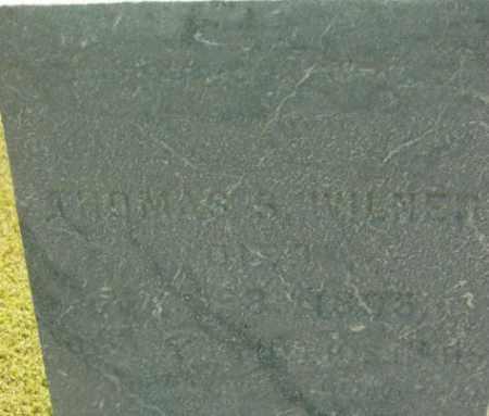 WILNER, THOMAS S - Berkshire County, Massachusetts   THOMAS S WILNER - Massachusetts Gravestone Photos