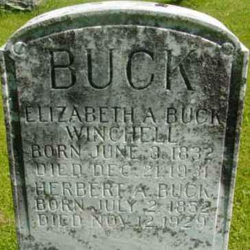 WINCHELL, ELIZABETH A - Berkshire County, Massachusetts | ELIZABETH A WINCHELL - Massachusetts Gravestone Photos