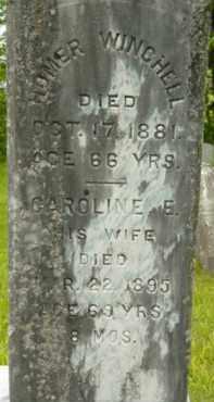 WINCHELL, CAROLINE E - Berkshire County, Massachusetts   CAROLINE E WINCHELL - Massachusetts Gravestone Photos