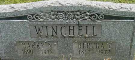 WINCHELL, BERTHA E - Berkshire County, Massachusetts | BERTHA E WINCHELL - Massachusetts Gravestone Photos