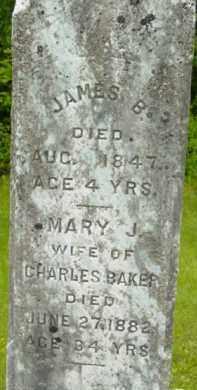 WINCHELL BAKER, MARY J - Berkshire County, Massachusetts | MARY J WINCHELL BAKER - Massachusetts Gravestone Photos