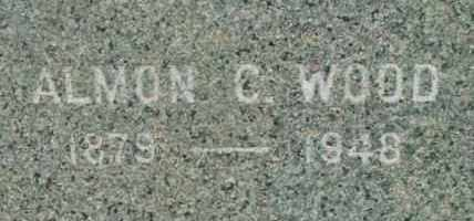 WOOD, ALMON C - Berkshire County, Massachusetts | ALMON C WOOD - Massachusetts Gravestone Photos