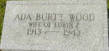 BURTT, ADA - Berkshire County, Massachusetts | ADA BURTT - Massachusetts Gravestone Photos