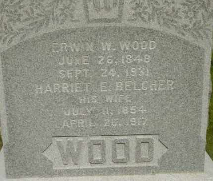 BELCHER, HARRIET E - Berkshire County, Massachusetts | HARRIET E BELCHER - Massachusetts Gravestone Photos