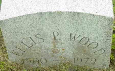WOOD, ELLIS P - Berkshire County, Massachusetts | ELLIS P WOOD - Massachusetts Gravestone Photos