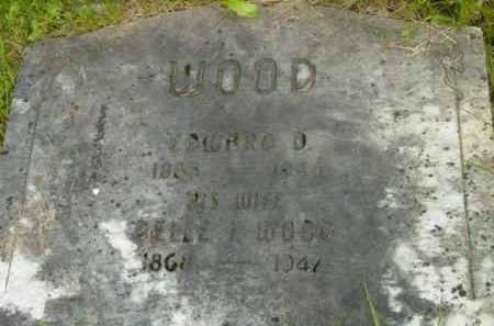 WOOD, EDWARD D - Berkshire County, Massachusetts   EDWARD D WOOD - Massachusetts Gravestone Photos