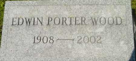 WOOD, EDWIN PORTER - Berkshire County, Massachusetts   EDWIN PORTER WOOD - Massachusetts Gravestone Photos