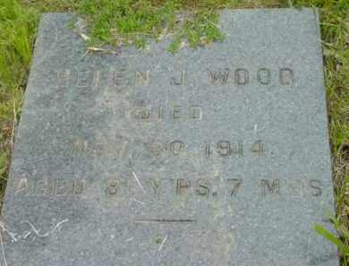 WOOD, HELEN J - Berkshire County, Massachusetts | HELEN J WOOD - Massachusetts Gravestone Photos