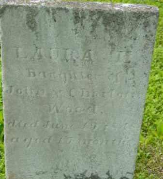 WOOD, LAURA E - Berkshire County, Massachusetts | LAURA E WOOD - Massachusetts Gravestone Photos