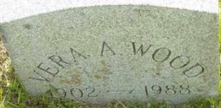 WOOD, VERA A - Berkshire County, Massachusetts | VERA A WOOD - Massachusetts Gravestone Photos