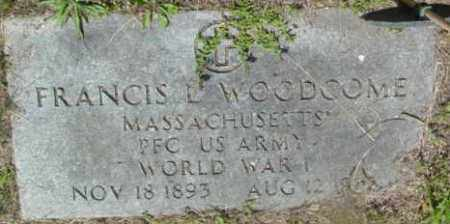 WOODCOME, FRANCIS L - Berkshire County, Massachusetts | FRANCIS L WOODCOME - Massachusetts Gravestone Photos