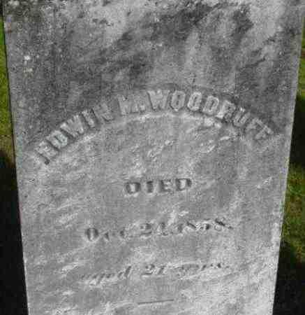 WOODRUFF, EDWIN M - Berkshire County, Massachusetts   EDWIN M WOODRUFF - Massachusetts Gravestone Photos