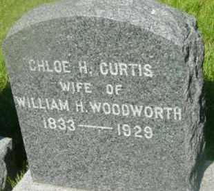 CURTIS, CHLOE H - Berkshire County, Massachusetts   CHLOE H CURTIS - Massachusetts Gravestone Photos