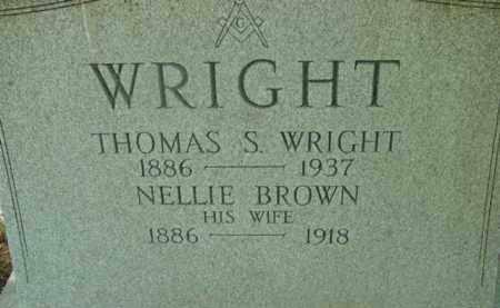 BROWN, NELLIE - Berkshire County, Massachusetts   NELLIE BROWN - Massachusetts Gravestone Photos