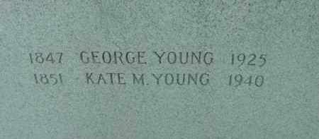 YOUNG, GEORGE - Berkshire County, Massachusetts | GEORGE YOUNG - Massachusetts Gravestone Photos