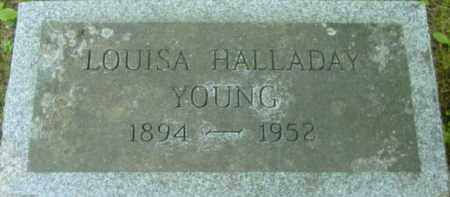 YOUNG, LOUISA - Berkshire County, Massachusetts | LOUISA YOUNG - Massachusetts Gravestone Photos