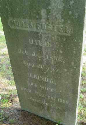 FOSTER, MOSES - Berkshire County, Massachusetts | MOSES FOSTER - Massachusetts Gravestone Photos