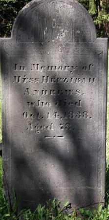 ANDREWS, HEPZIBAH - Essex County, Massachusetts | HEPZIBAH ANDREWS - Massachusetts Gravestone Photos