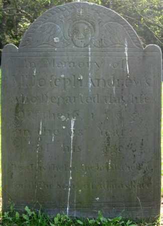 ANDREWS, JOSEPH - Essex County, Massachusetts | JOSEPH ANDREWS - Massachusetts Gravestone Photos
