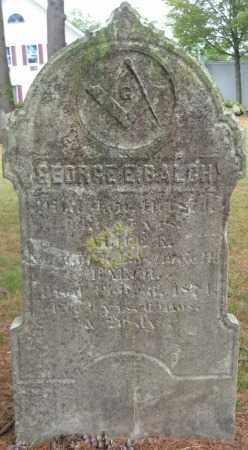 BALCH, ALICE E. - Essex County, Massachusetts | ALICE E. BALCH - Massachusetts Gravestone Photos