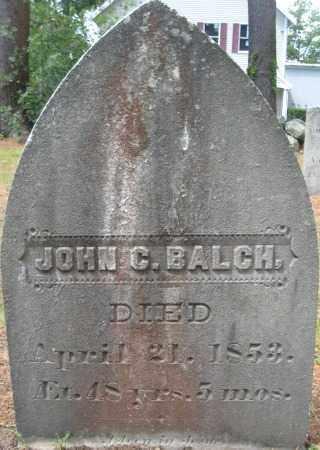 BALCH, JOHN C. - Essex County, Massachusetts | JOHN C. BALCH - Massachusetts Gravestone Photos