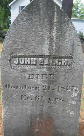 BALCH, JOHN - Essex County, Massachusetts | JOHN BALCH - Massachusetts Gravestone Photos