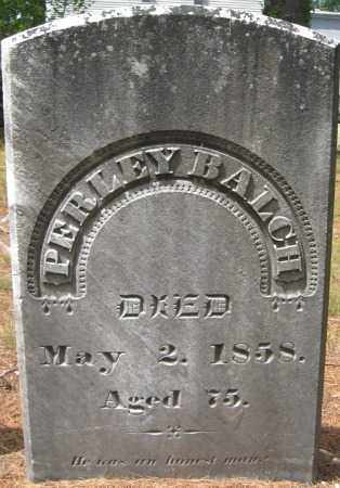 BALCH, PERLEY - Essex County, Massachusetts | PERLEY BALCH - Massachusetts Gravestone Photos