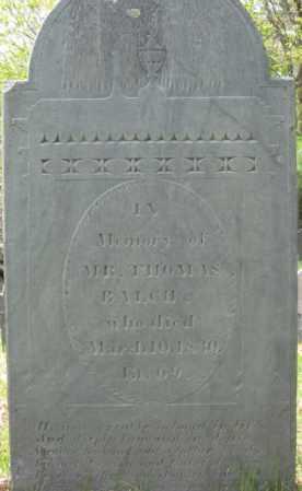 BALCH, THOMAS - Essex County, Massachusetts | THOMAS BALCH - Massachusetts Gravestone Photos