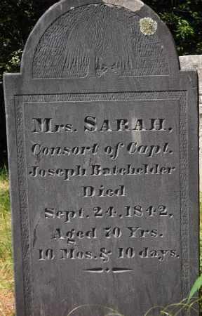 BATCHELDER, SARAH - Essex County, Massachusetts | SARAH BATCHELDER - Massachusetts Gravestone Photos